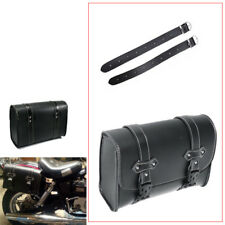 Universal PU Leather Motorcycle Saddle Luggage Side Tail Pouch Storage Bag Great
