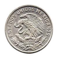 KM# 451 - 50 Centavos - Mexico 1968 (AU)