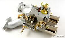 MGB Weber 45 DCOE 152G Carburador Carburador, Colector & vinculación/listo montado