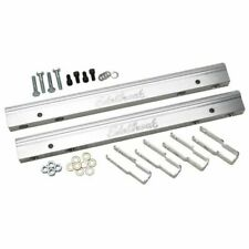 Edelbrock 3633 Fuel Injection Fuel Rail Kit, -6 AN Clear, For Chevy Big Block