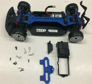 Traxxas 1/18 Scale LaTrax Rally Car Rolling Chassis w/ Tires & Motor