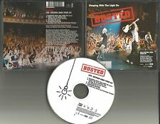 BUSTED Sleeping with Light 3 LIVE TRX& VIDEO & NUMERED w/ POSTER CD single 2003