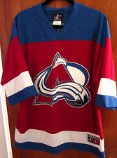 COLORADO AVALANCHE hockey jersey large Peter Forsberg #21 Foppa NHL