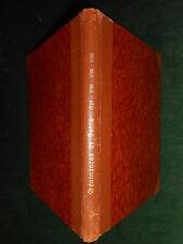RECUEIL D'ORDONNANCES & RÉGLEMENTS DE LA VILLE DE BERNE (Suisse) - 1723-1786.
