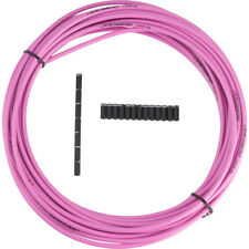Jagwire 5mm Sport Brake Housing with Slick-Lube Liner 10M Roll Pink