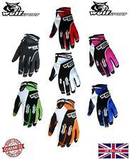 New Kids Adult Wulfsport Stratos Motocross Gloves Quad Kart Bike Off Road MTB MX