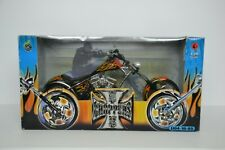 2003 MUSCLE MACHINES JESSE JAMES STURGIS SPECIAL WEST COAST CHOPPERS 1:10 SCALE