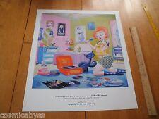 """Blondie Debbie Harry tribute poster 1990's 19x21.5"""""""