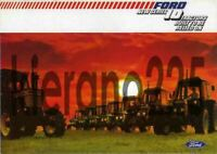 A3 Ford Series 10 Range 7600 7800 8200 Tractor Brochure Poster Leaflet