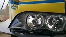 BMW 3 Series E46 Saloon 98-01 LH Front Headlamp  NEW Titanium Chrome Surround
