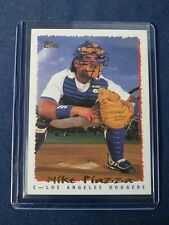 1995 Topps MIKE PIAZZA Baseball Card #466 Los Angeles Dodgers MINT Free Shipping