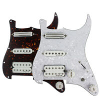 OriPure Alnico 5 Humbucker Pickup Loaded Prewired Strat Guitar HSS Pickguard