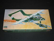 An Hasegawa un made plastic kit of a OV-10A Bronco Rockwell,  boxed.