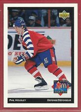 1992-93 Upper Deck McDonald's NHL All-Stars - #8 - Phil Housley - Jets