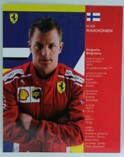 New listing 2018 Kimi Raikkonen Ferrari F1 Driver Card Formula 1 Autograph