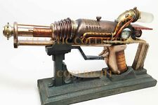 LIFE SIZED STEAMPUNK ION LASER CHAMBER PROP WITH STAND COLONEL FIZZIWIGS