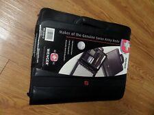 brand new-Wenger Swiss Army Multi-Function  Black Pro-Folio Briefcase Organizer