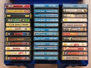 Mixed Case Of 36 Sinclair ZX Spectrum Tapes, Sinclair Spectrum Job Lot Vintage