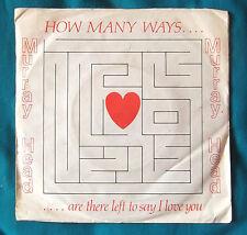 """Murray Head - How many ways. 7"""" Vinyl  1979 EX"""