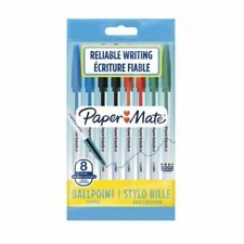 Papermate 045 1.0mm Assorted Ballpoint Pen - Pack of 8