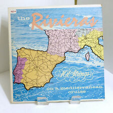 """1959 101 Strings """"The Riviera"""" Somerset SF-9000 Very Good Stereo LP"""