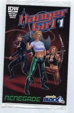 DANGER GIRL #1  IDW comics, Comic Block variant cover,Poly bagged edition.Mint