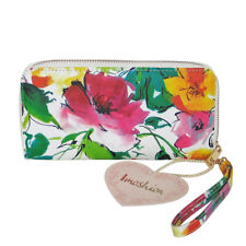IMOSHION Floral Print Penrose Zip Around Continental Wristlet Wallet Clutch NWT