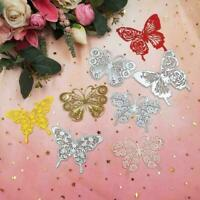 Butterfly Metal Cutting Dies Embossing Mold Scrapbook Album Decorate C J8A0 R4B9