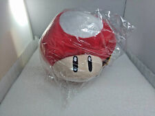 Red Mushroom Super Mario Brothers 8-inch Plush Pillow Nintendo