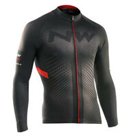 Cycling Long Sleeve Jersey Bib Bicycle Bike Race Shirt Windproof Clothes Jacket