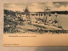 Las Lavenderss En El Consejo, Barranquilla, Columbia Vintage Postcard