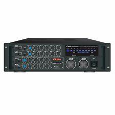 Pyle Pmxakb2000 B.t Stereo Mixer Karaoke Amplifier,200