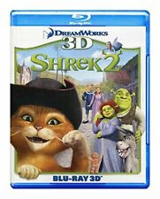 Shrek 2 3D Blu-ray 3D Version Only Animation Family Kids Children
