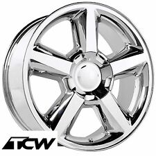 (1) 20 inch 20x8.5 Chevy Tahoe LTZ 2007 OE Replica 5308 Chrome Wheel Rim +31 mm