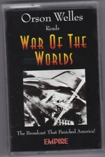 ORSON WELLES READS WAR OF THE WORLDS CASSETTE BROADCAST THAT PANICKED AMERICA