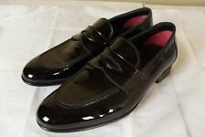 Tom Ford Black Leather Tuxedo Dress Shoes 8.5 T New in Box Patent Tux Gucci