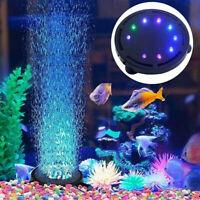 Aquarium Lighting Decor Submersible RGB LED Bubble Air Light Fish Tank Lamp