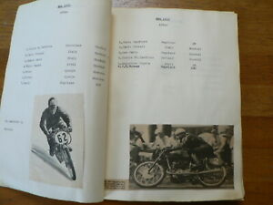 125 CC ISLE OF MAN TT SCRAPBOOK WITH PICTURES & RESULTS 1951-74 MORTIMER,IVY,MZ