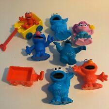 Sesame Street Toy Lot Elmo Grover Cookie Monster Abby Cadabby