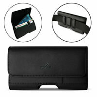 Leather Belt Clip Pouch Case Holster for iPhone 12 Pro Max, 11 Pro Max, XS Max