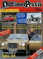 4015OP Oldtimer Praxis 2001 3/01 NSU Ro 80 Kawasaki Z1 Steyr-Puch 650 TR R 25/3