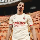 Men's 21/22 AC Milan Away Shirt - LARGE