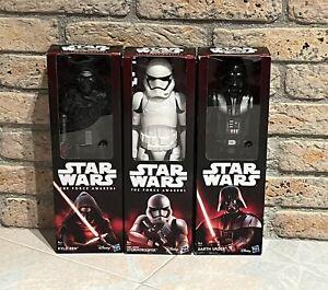 Star Wars - 3 Action Figure - Darth Vader/Kylo Ren/Stormtrooper