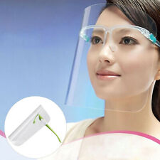 NEW 5X Full Face Shield Visor Protection Covering Safety Clear Glasses Anti-fog