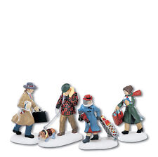 Dept 56 CITC BUSY CITY SIDEWALKS Accessory 58955 NEW D56 Christmas in the City