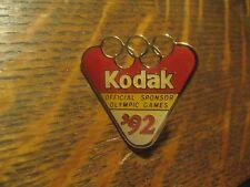 Eastman Kodak Film 1992 Summer Olympic Games Barcelona Spain Sport Lapel Hat Pin