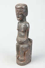 Makonde Seated Figure, Mozambique, African Tribal Arts, African Figures