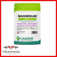 Lindens Magnesium 90 Tablets (MgO 500mg), Tiredness & Fatigue