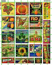 5060 DAVE'S DECAL 1:87 PRODUCE FRUIT CRATE LABEL ADVERTISING HO S O SCALE MORE