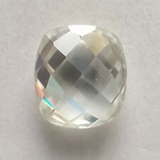 Vvs1 Near White Cushion Rose Cut 4 Ring Loose Moissanite 0.38 Ct 5.33 x 3.99 Mm